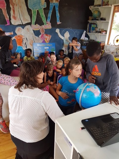 A Dutch Volunteer Visiting our School