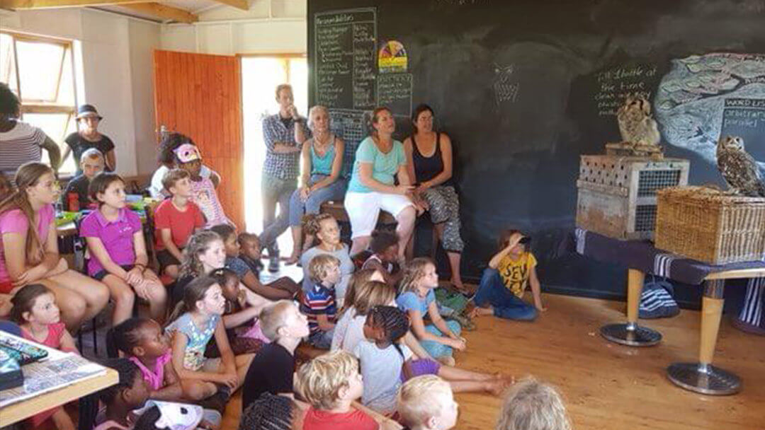 A Visit from the Kariega Foundation Volunteers