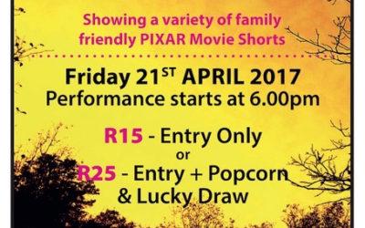 Movie Night Friday 21st April 2017