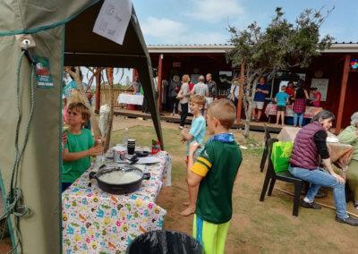 children-at-tent